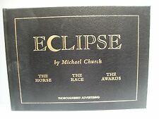 Book. Eclipse by Michael Church. No. 144 of  1250. actual edit dedicated Eclipse