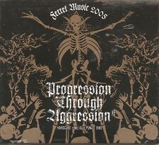 Progression Through Aggression II [ CD, Various Artists, Hardcore, Metal, Punk]