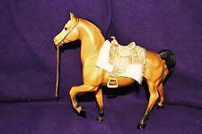 BREYER MODEL HORSE - Traditional Scale - WESTERN PRANCING CHEYENNE BUCKSKIN