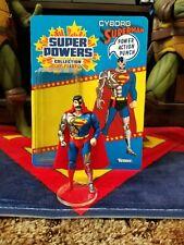 Custom CHROMED Carded Super Powers Cyborg Superman (Read Description)