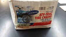 Peerless ATV TRAC Tire Chains 4 Link Spacing New In Package Set Of 2! 24X8X11