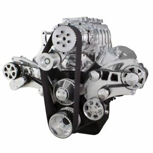 BBC Serpentine System for Supercharger 454 396 AC Kit for Root Style Blower