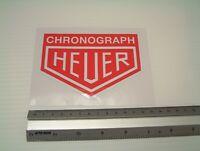 Heuer Chronograph Motorsport Sticker Decal Tool box vintage Classic Car Workshop