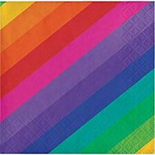 Rainbow Beverage Napkins 16 Pack