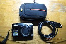 Nikon COOLPIX S6300 16.0MP Digital Camera - Black
