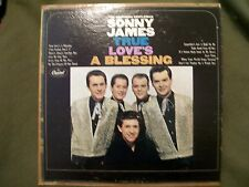 SONNY JAMES TRUE LOVE'S A BLESSING 1966 RECORD CAPITOL T 2500