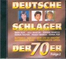 Deutsche Schlager der 70er 2-1971 Randolph Rose, Bata Illic, Peggy March,.. [CD]