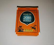 PANINI - ROAD TO FIFA WORLD CUP RUSSIA 2018 (Sticker) - 50 POCHETTES NEUVES