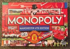 Monopoly Manchester Utd  Edition SPARES FULL SET HOUSES AND HOTELS PARTS