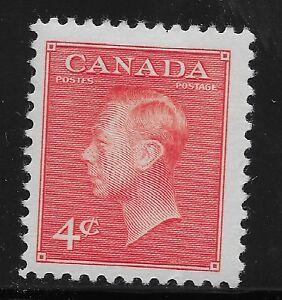 Canada Scott #300, Single 1950 FVF MH