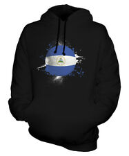 NICARAGUA FOOTBALL UNISEX HOODIE TOP GIFT WORLD CUP SPORT