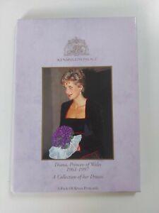 PRINCESS DIANA Postcard Pack Kensington Palace Dresses - RARE