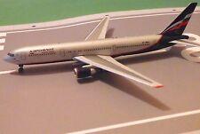 Aeroflot Russian Airlines Boeing 767 Model Aircraft 1/400 Phoenix Platinum