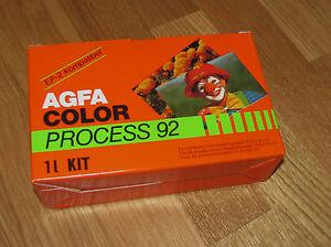Agfa Color Process 92 Foto Entwickler Set 1 L Kit Foto Entwicklung