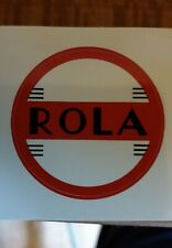 Rola Speaker Stickers 6 x 40mm in diameter