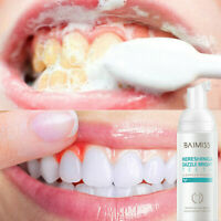 BAIMISS Tooth-Cleaning Mousse Toothpaste Teeth Whitening Oral Removes Dental