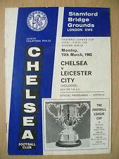 1965 League Cup FINAL First Leg- CHELSEA v LEICESTER CITY, 15 March (Original)