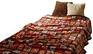 Soft Flannel Blanket Cute CROCHET Motifs and Pattern Cute Single size 140×200cm