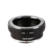K&F Concept Adapter Olympus OM Lens to Micro 4/3 for Olympus E-PL1 E-P2 OM-M4/3