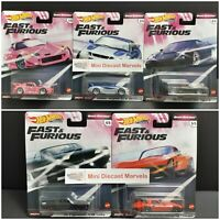2020 Hot Wheels Premium Fast & Furious *Quick Shifters* Full Set +1🎁 Regular TH