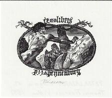 PETER LAZAROV: Exlibris für P. J. J. Peijnenburg