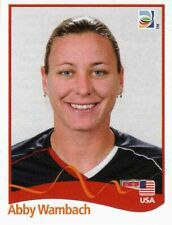 Panini WM 2011 194 Abby Wambach USA World Cup 11 Women Frauen