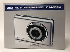 Compact Digital 5.0 Megapixel Camera 4X Zoom New in box