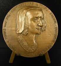 Medaille Saint Gregoire evêque de Tours Baptème de Clovis Histoire Francs medal