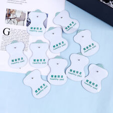 10Pcs Snap On Replacement Electrode Pads Cable For Tens Unit  Massa NNOH
