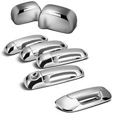 For 02 08 Dodge Ram Chrome 1500 2500 3500 Hd Mirror4 Door Handletailgate Cover Fits 2008 Dodge Ram 3500
