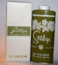 Sortilege by Le Galion Perfumed Talcum Shaker Powder Bnib 2 oz