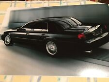 2003 2004 MERCURY MARAUDER LEFT REAR QUARTER ON THE GO WOW 12X18 PHOTO POSTER