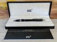 MONTBLANC StarWalker Midnight Black Resin Ballpoint Pen, NOS!