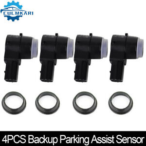 4x Backup Parking Assist Sensor 15239247 For Lucerne Escalade Suburban Avalanche