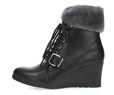 f3266819f98 UGG Australia Solid Wedge Leather Women's Boots for sale | eBay