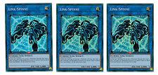 3 x link-spinne ys17-de043, Super Rare, Playset, Link Strike, Mint, German