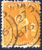 TRINITE   N° 26  -USED -  YEAR 1869    CV  : 4 €