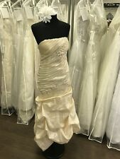 Stunning Tea Length Wedding Dress Size 6