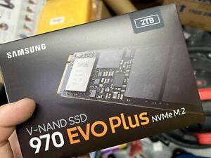 Samsung 970 EVO Plus Series - 2TB PCIe NVMe - M.2 Internal SSD MZ-V7S2T0B/AM