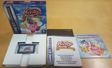 KIRBY & THE AMAZING MIRROR for NINTENDO GAME BOY ADVANCE COMPLETE & IN MINT COND