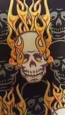 No Fear Board Shorts Skull with Flames Size 32
