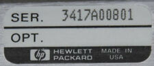 HP/Agilent 35670A 2 Channel FFT Dynamic Signal Spectrum/Network Analyzer