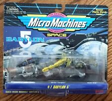 Galoob - Babylon 5 Micro Machines, Space Collection #1 *New* 1994