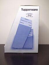 Tupperware E-Series Solid Wood Knife Block