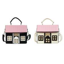 Women Shoulder Bag Tote Purse House Shaped Handbag Messenger Crossbody Satchel