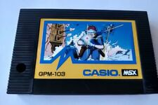 CASIO SKI COMMAND MSX MSX2 Game Cartridge only Japan tested-a822-