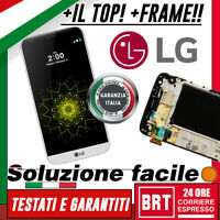 DISPLAY LCD+TOUCH SCREEN+FRAME ORIGINALE LG G5 H820 H830 H840 H850 VETRO SCHERMO
