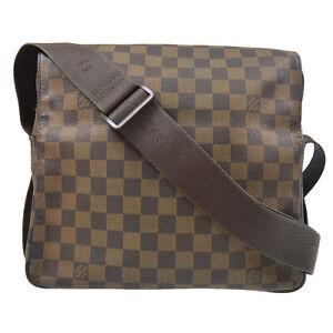 LOUIS VUITTON NAVIGLIO CROSS BODY SHOULDER BAG SR0076 PURSE DAMIER N45255 72623