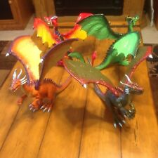 "KB Toys Mystical Dragon Jasman Large 10"" Asstorted Figures Wings Move Fantasy 4"
