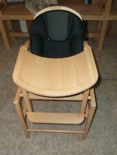 chaise haute enfant storchenmuhle en bois